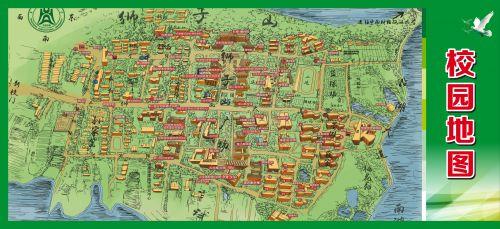 武汉地图 华农地图图片