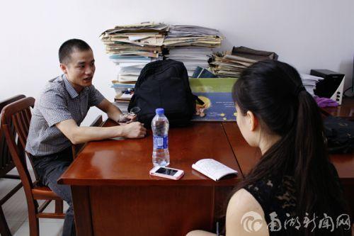 【一线华农人】钱广贵:陪着学生一起成长