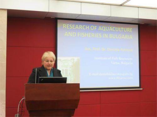 保加利亚农科院Daniela Petrova教授做客水产讲坛