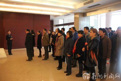 图书馆党员参观湖北省反腐倡廉警示教育基地