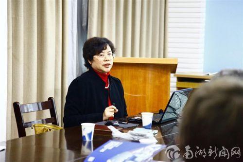 郭爱珍教授介绍课题组基本情况