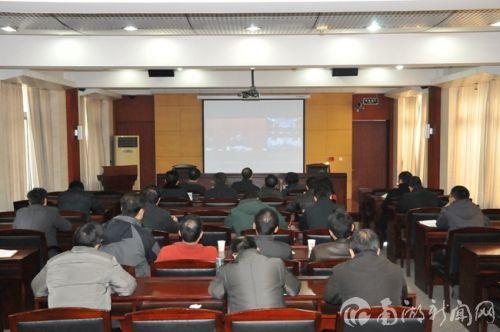 我校参加2015年全国教育工作视频会议