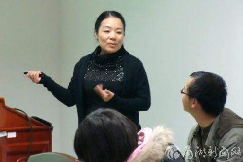 """华南农大廖红教授作客我校学术沙龙讲述她的""""根系""""人生"""
