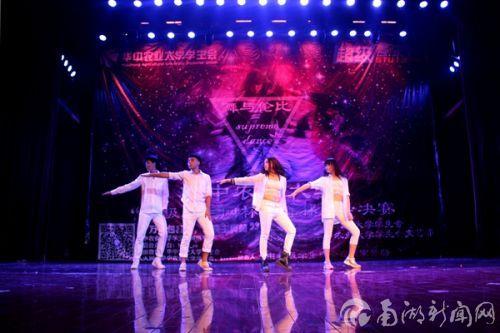 上一届冠军韦玥以舞热场