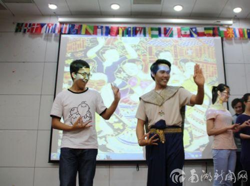 泰国舞蹈,现场教学