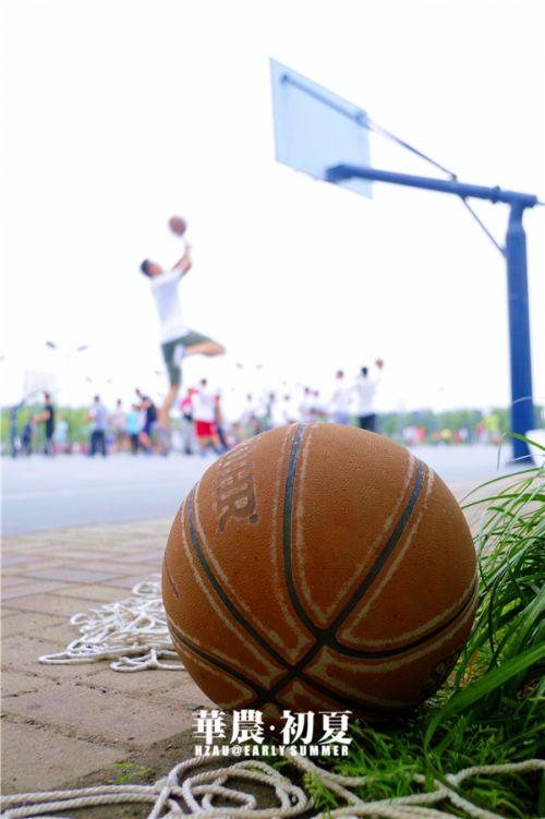 3.夏天,是男生在球场上的热血篮球,是大汗淋漓的痛快