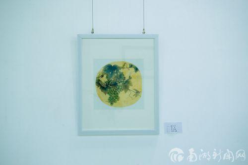 中国传统工笔花鸟绘画