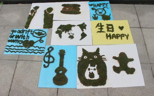 生科1403班的王浩琳最近在学习尤克里里(吉他的一种),于是便以此为图片