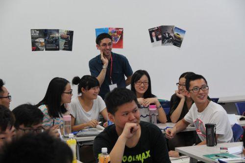 我校暑期国际英语口语强化班开课