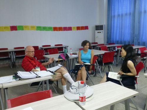 中美教师集体备课3