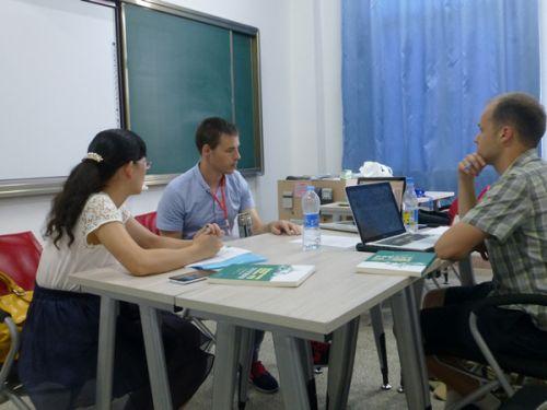 中美教师集体备课2