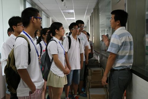 参观作物遗传国家重点实验室