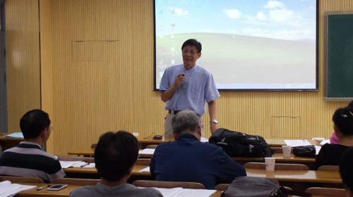 国家级名师郑用琏教授分享评委经验