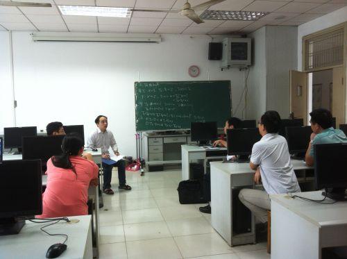 信息与计算科学专业教师集体备课
