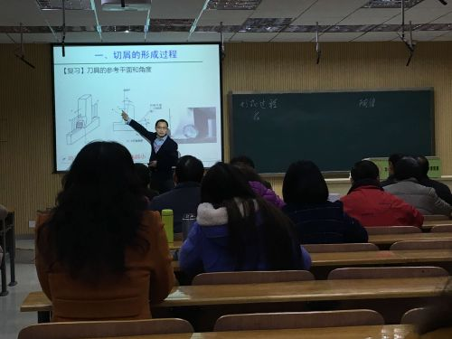 工学院廖宜涛老师课堂教学