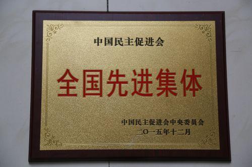 """我校民进支部荣获""""全国先进集体""""称号"""