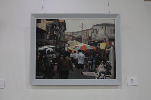 油画展示的活灵活现