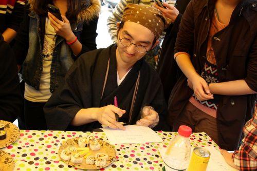 日教评委点评寿司