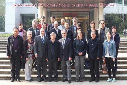 加拿大农业与农产食品部代表团来访