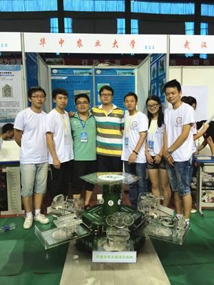 第六届全国大学生机械创新设计大赛现场