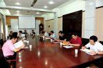 学校召开军训工作领导小组会议