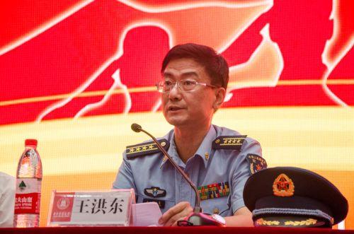 空军预警学院副院长王洪东大校讲话 吕岩