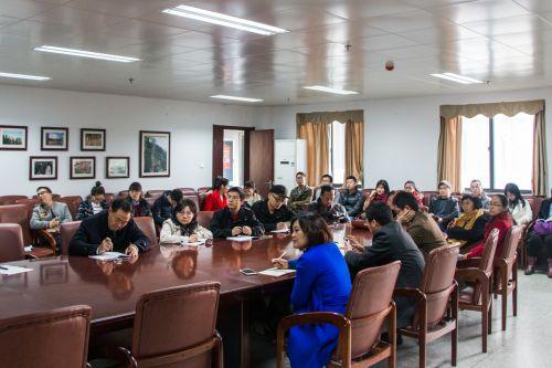 张启发院士参加支部学习  谈对党员讲政治的三重认识