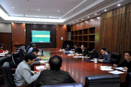 校领导到园林学院调研事业发展规划