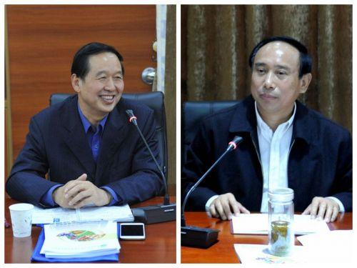 校党委书记李忠云、副校长周承早就园林学院发展提出指导意见1