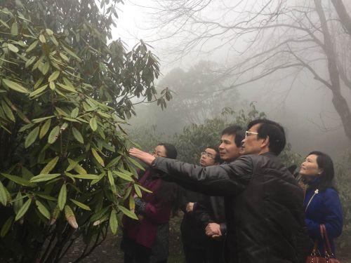 <b>生科院与庐山植物园共建生物学基地班野外实习基地</b>