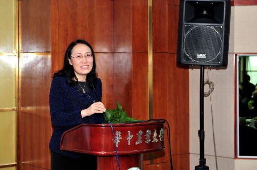 中国高等教育学会学术部主任高晓杰致辞