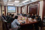 扬翔公司来校商讨打造校企合作新典范