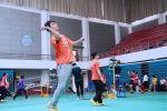 """我校举行2017年""""狮子山""""杯大学生羽毛球赛"""
