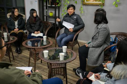 张安录院长与同学畅谈成长之路