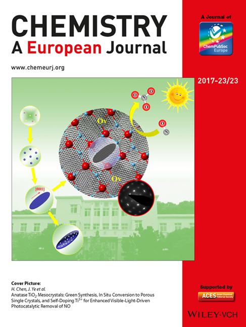 理学院研究成果被《欧洲化学》选为封面文章