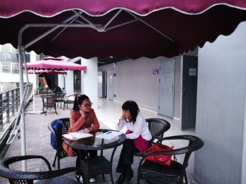 学生与市场营销系李艳军老师预约探讨论文写作