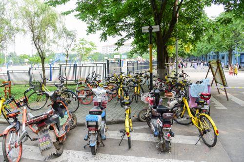 5、乱停放的自行车电动车妨碍行人和机动车通行 韩叙