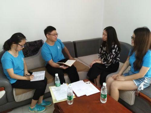 寻找基层华农人实践团队在采访马田