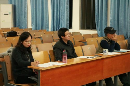 文法学院国学部、国家级普通话水平测试员老师担任评委