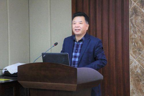学校党委常委、副校长姚江林致辞(高子霖 供图)