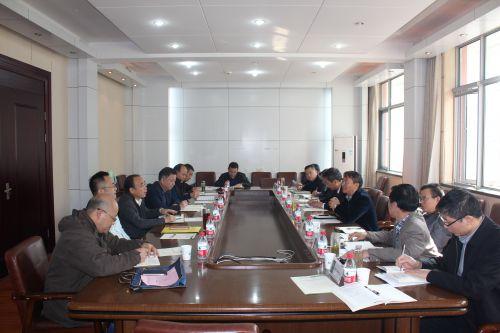 武汉市农科院来我校洽谈合作