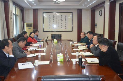 武汉经济技术开发区(汉南区)领导前来我校洽谈合作