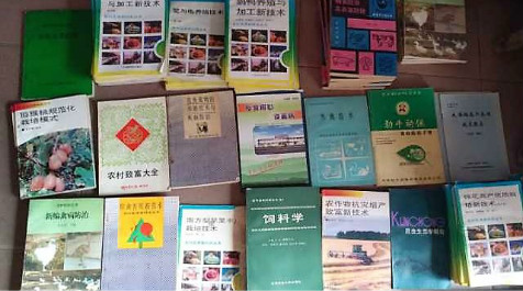 栽培2支部捐的书籍