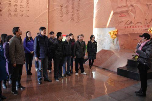 革命纪念馆参观学习