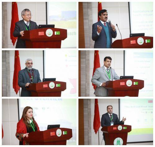 张献龙副校长、巴方科研院所代表、巴基斯坦驻华大使馆科技参赞畅谈合作前景
