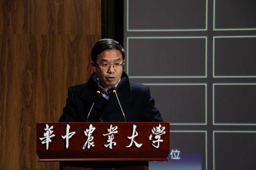 宣传部副部长分享 学通社记者 王梓安摄