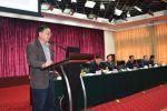 张启发院士应邀在全省农业春季生产工作会上授课