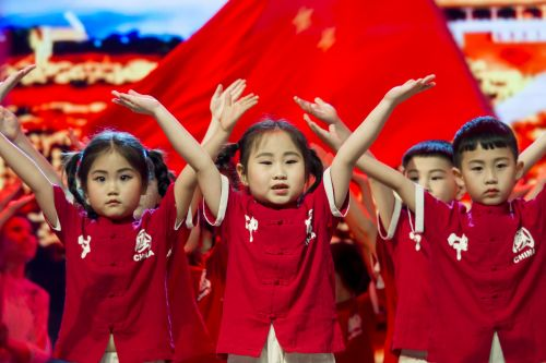 华农幼儿园六一庆典(学通社记者 彭韵菲 摄)-14