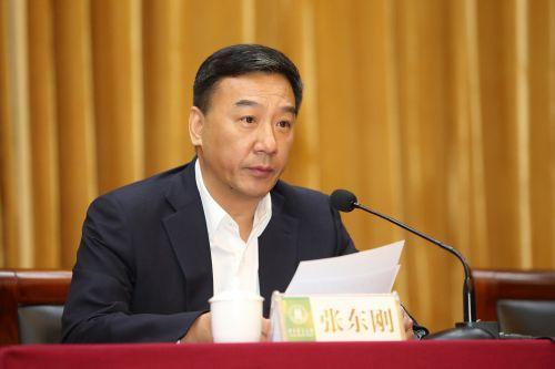 教育部人事司司长张东刚同志宣布任免决定并讲话