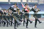 迈向新甲子:元旦升旗仪式在东运动场举行